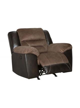 Кресло Earhart 2910125 реклайнер 109х84х89 см Коричневый