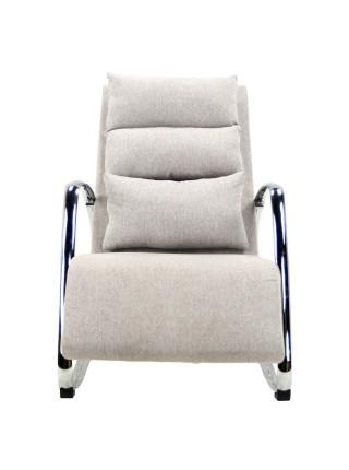 Кресло-качалка MK-5509-BG 125х62х80 см Бежевый