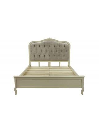 Кровать Florence MK-5020-AW двуспальная NDS165 160х201 см Молочный/гус.лапка