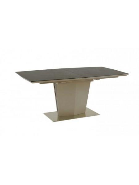 Стол обеденный MK-6000-DG обеденный раскладной 90х160(200)х76 см Графит
