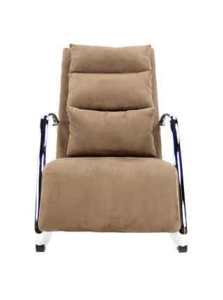 Кресло-качалка MK-5509-BR 125х62х80 см Коричневый