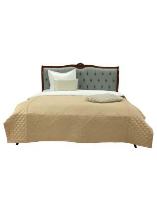 Кровать Florence MK-5083-BR двуспальная 181х201 см Итальянский орех
