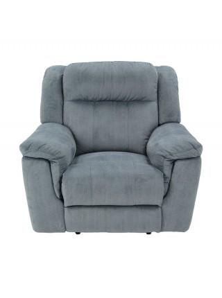 Кресло MK-4729-HAR реклайнер 105х105х102 см Серый