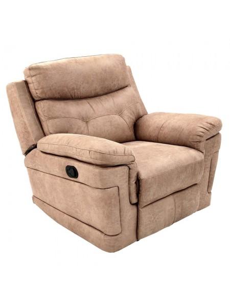 Кресло MK-4702-BGF реклайнер 102х97х98 см Бежевый