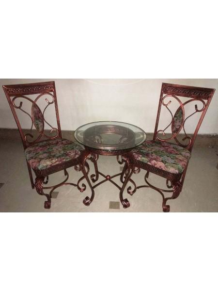 Кофейная группа MK-4802 Стол и 2 стула 0х0х0 Бронзовый