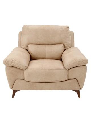 Кресло MK-4723-BGF 112х96х96 см Бежевый