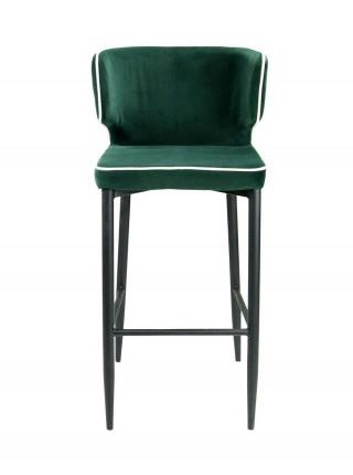 Стул барный Шэффилд MK-5625-DR 52х43х110 см Темно-зеленый