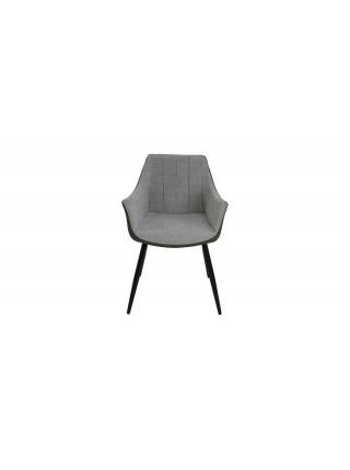 Кресло Belinda MK-7208-GN 59х57х83 см Светло-серый/темно-оливковый