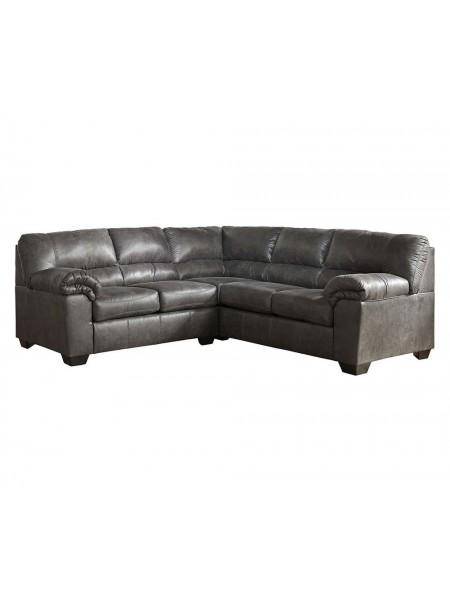 Диван Bladen 1200155 2-местный модульный (левая секция углового дивана) 142х97х97 см Серый
