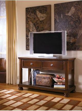 Столик консольный Porter T697-4 52х133х82 см Коричневый