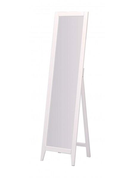 Зеркало MK-2389-WT 38х40х150 см Белый