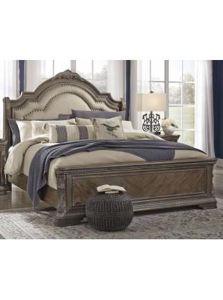 Кровать Charmond B803-58W1 двуспальная 185х203 см Коричневый