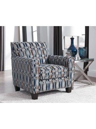 Кресло Creeal Heights 8020221 89х91х89 см Сине-коричневый