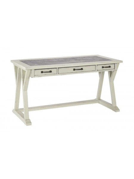 Письменный стол Jonileene H642-44 152х71х77 см Белый/серый