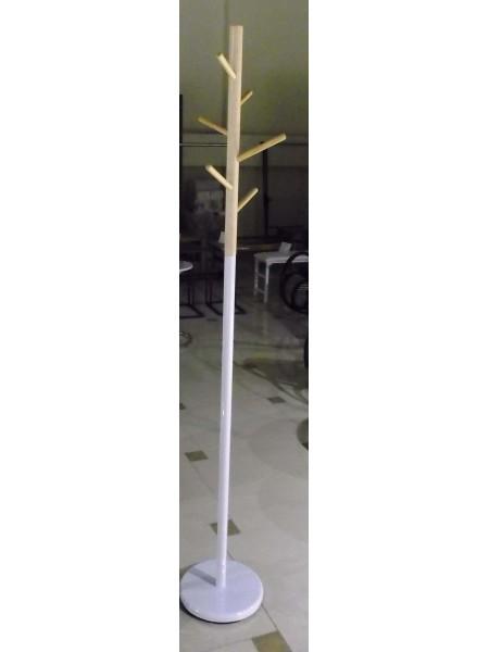 Вешалка MK-2371-WT 28х28х171 см Белый