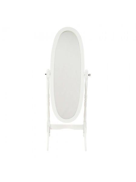 Зеркало MK-2301-WT 59х20х150 см Белый