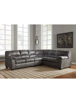 Кресло Bladen 1200146 модульное (часть углового дивана) 61х97х97 см Серый