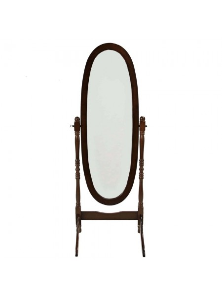 Зеркало VT-M-27 MK-2301 59х20х150 см Темный орех