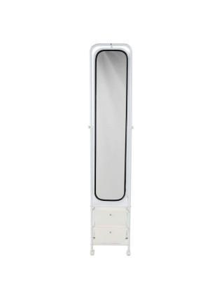 Зеркало MS-9088 MK-2375-WT c ящиками 38х35х170 см Белый
