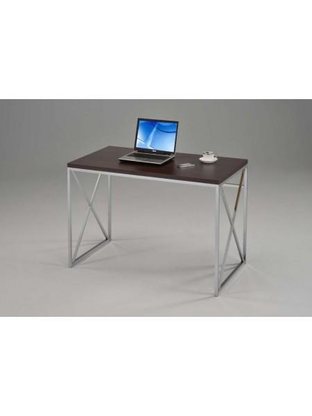 Письменный стол CD-2147-W MK-6342 60х114х76 см Хром/темный орех