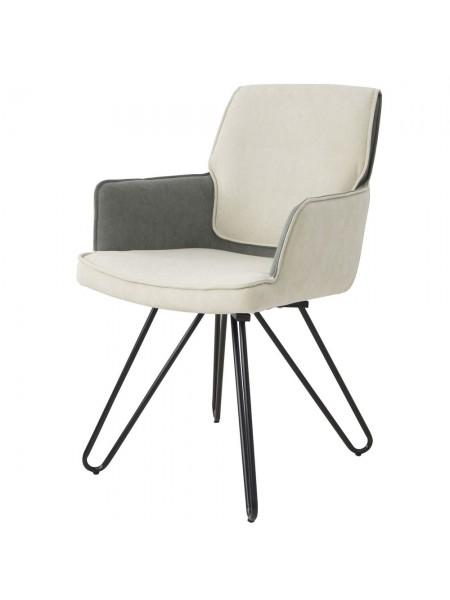 Кресло Марвел Х MK-6926-BG 56х61х86 см Бежевый