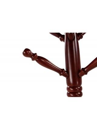 Вешалка MK-2311 50х50х182 см Темная вишня