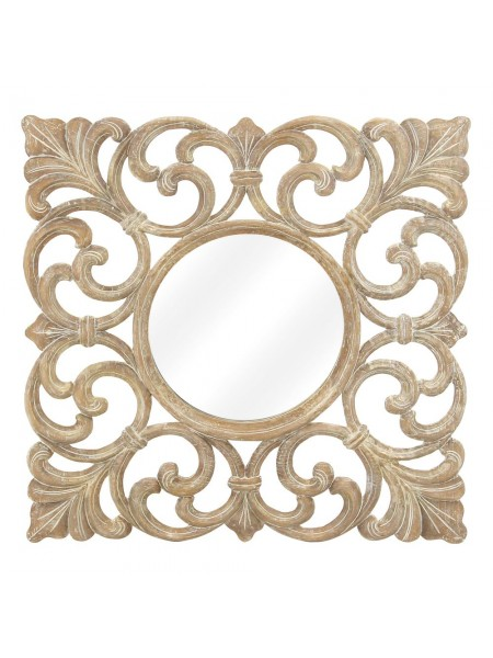 Зеркало Carved MK-3206-CE 100х4х100 см Античный бежевый