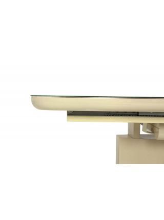 Стол Abilin MK-4315-BG обеденный раскладной 85х120(160)х76 см Бежевый