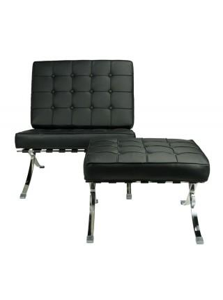 Кресло MK-5511-BL 80х80х90 см Черный
