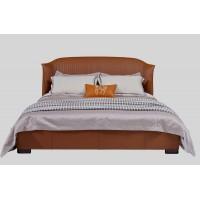 Кровать MK-8103 двуспальная 181х201 см Карамельный