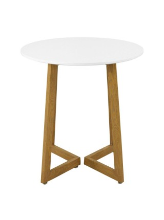 Стол MK-7015-WT обеденный 70х70х72 см Белый