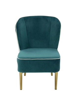 Кресло MK-5643-DB 57х67х84 см Тёмно-бирюзовый