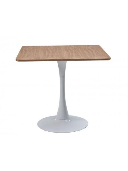 Стол MK-7016-WD обеденный 80х80х72 см Натуральное дерево