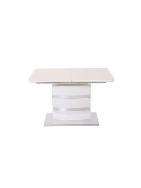 Стол Abilin MK-4315-WT обеденный раскладной 85х120(160)х76 см Белый