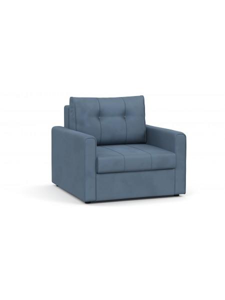 Кресло-кровать ЛЕО АРТ 361 Серо-Синий