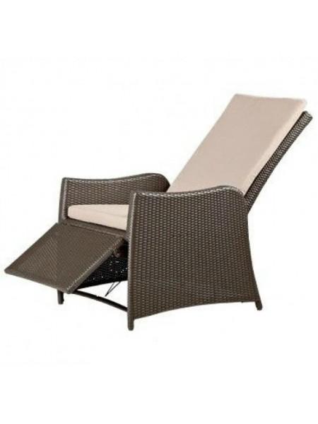 Кресло-шезлонг плетеное GARDA 1502