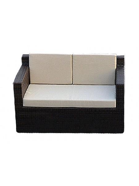 Плетеный двухместный диван Garda 1007
