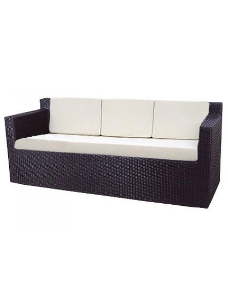 Плетеный трехместный диван Garda 1007