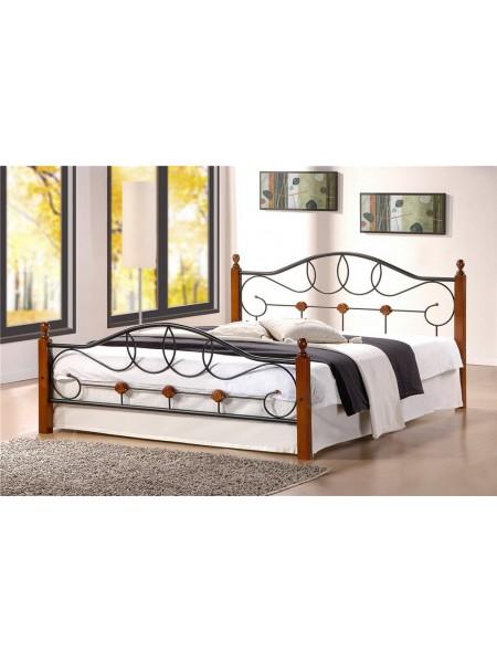 Двуспальная кровать из массива гевеи Hava