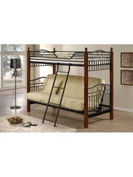 Фан двухъярусная кровать-футон (Fun Futon DD-90х190)