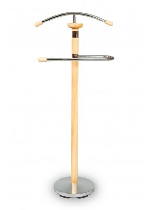 Вешалка для одежды напольная костюмная СН-4103 (Натурель)
