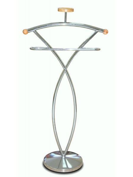 Вешалка для одежды напольная костюмная СН 4148C Натурель
