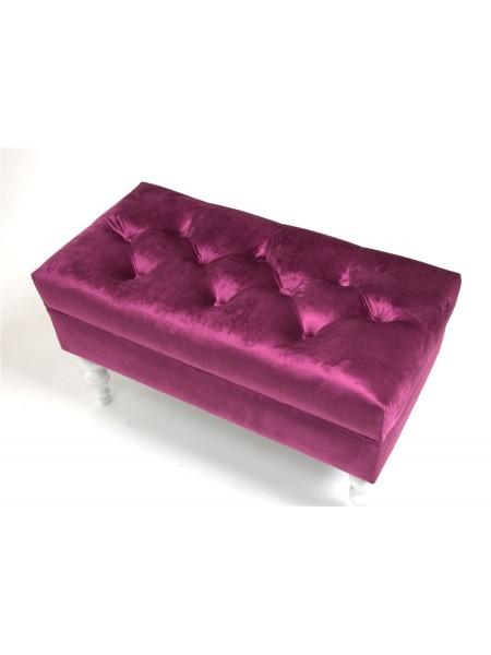 Банкетка Виктория 26 темно-розовый