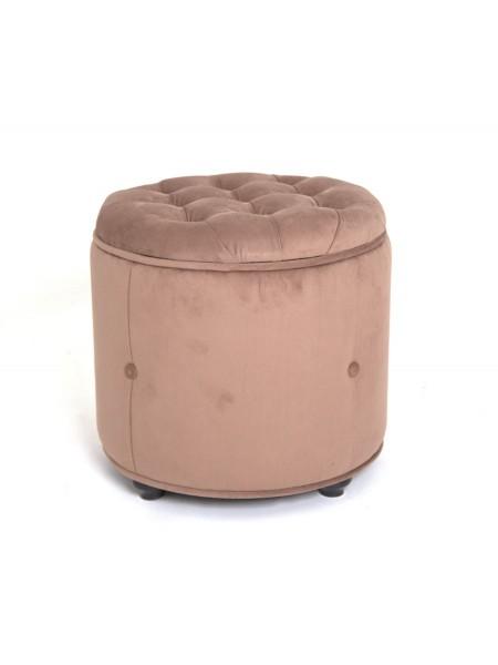 Пуф ФРИО (коричневый, кремовый)