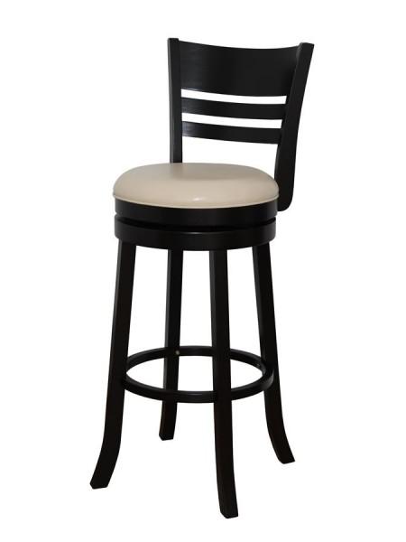 Барный крутящийся стул 9393 Капучино