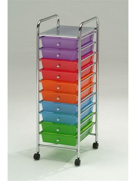 Система хранения с выдвижными ящиками на колесиках EP7525S-10