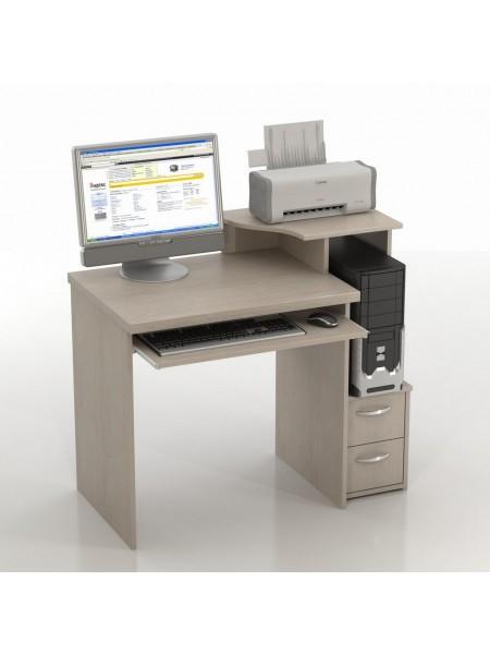 Компьютерный стол Колибри-КС-10 Дуб Беленый