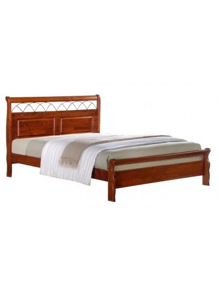 Двуспальная кровать Сатурн LF (160х200) Майер браун