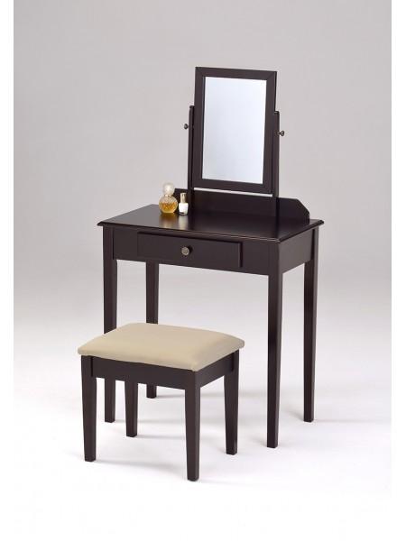 Туалетный столик с пуфиком VC-0002-W