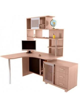 Компьютерный стол NEXT (Некст) с тумбой